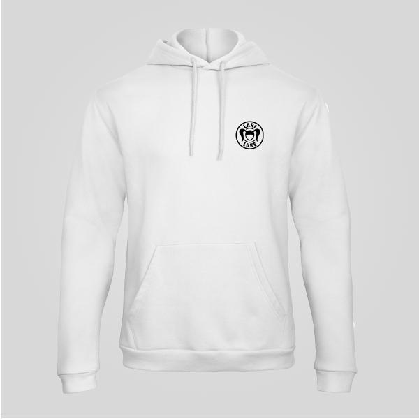 Unisex - Hoodie - Logo - White