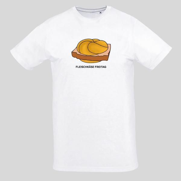 Unisex - T-Shirt - Fleischkäse Freitag