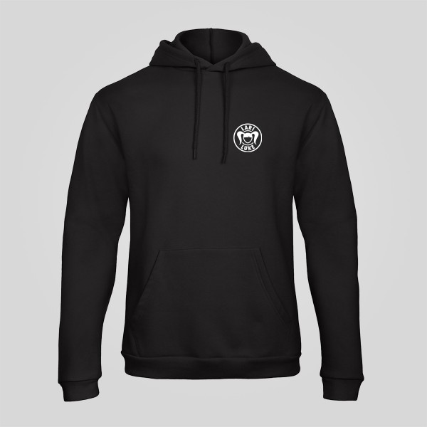 Unisex - Hoodie - Logo - Black